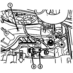 2001 Chrysler 300m Temperature Sensor Location Wiring