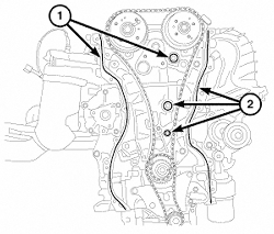 HowToRepairGuide.com: Timing Chain Cover & Seal Removal on