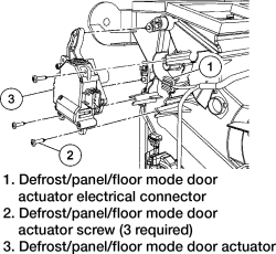 Search Results How To Replace Fix The Mode Door Actuator