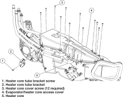 Solved: How To Replace Heater Core on Ford Expedition and