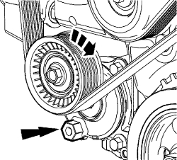 Solved: How to replace Accessory Drive Belts on Ford