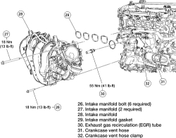 Solved: How to replace Intake Manifold on Ford Fusion