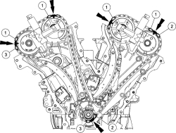 Ford escape timing chain maintenance