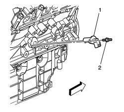 Camshaft Position Sensor Location 2006 Chevy Impala. Chevy