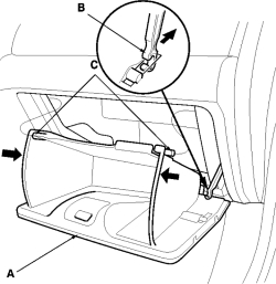 Service manual [1998 Buick Lesabre Glove Box Removal