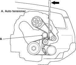 HowToRepairGuide.com: How to replace Accessory Drive Belts