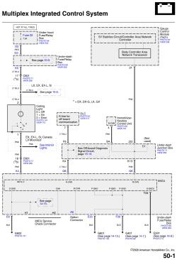 | Repair Guides | Multiplex Control System (2008) | Multiplex Control System (2008) | AutoZone