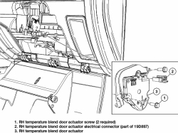 Solved: How to replace Blend Door Actuator on Ford Fusion