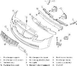 Nissan Rogue Front Bumper Diagram, Nissan, Free Engine