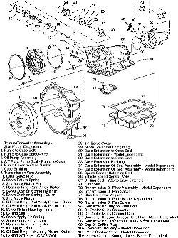4l65e Transmission Exploded View, 4l65e, Free Engine Image