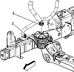 Secondary Air Injection System Pump Location Secondary Air