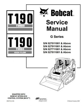 New Holland LS160 LS170 Skid Steer Service Manual