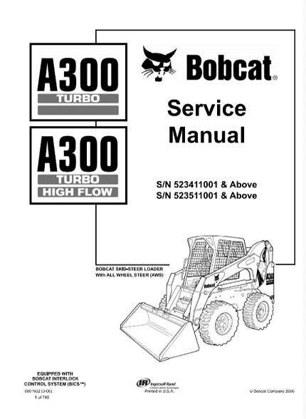 Bobcat A300 Turbo, A300 Turbo High Flow Skid Steer Loader