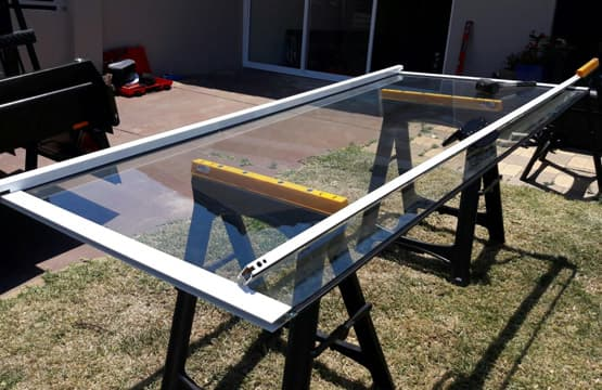 sliding glass door repair glass