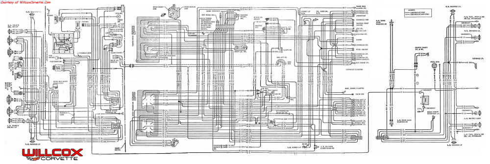 medium resolution of 1970 corvette wire schematic tracer