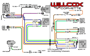 1974 Corvette Blower Motor Wiring Diagram  Wiring Diagram