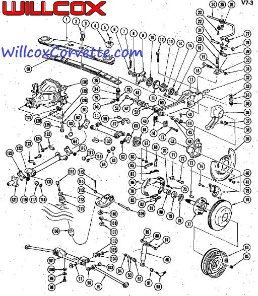 1968 Corvette Rear End Diagram. Corvette. Wiring Diagrams