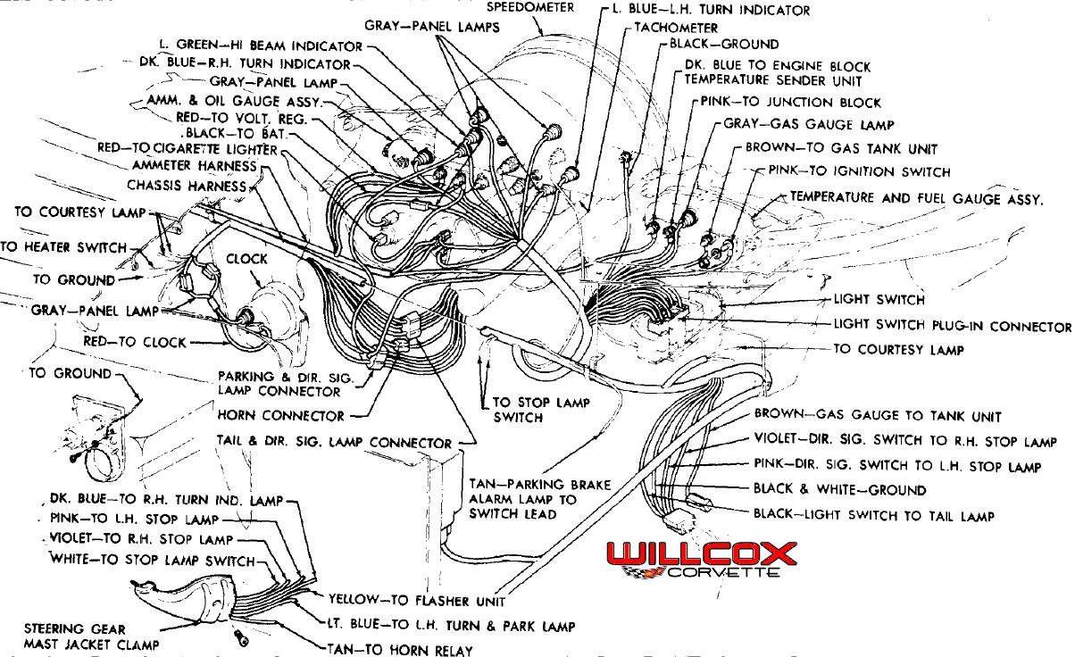 1959 Corvette Wiring Diagram 1959 Corvette Engine Diagram