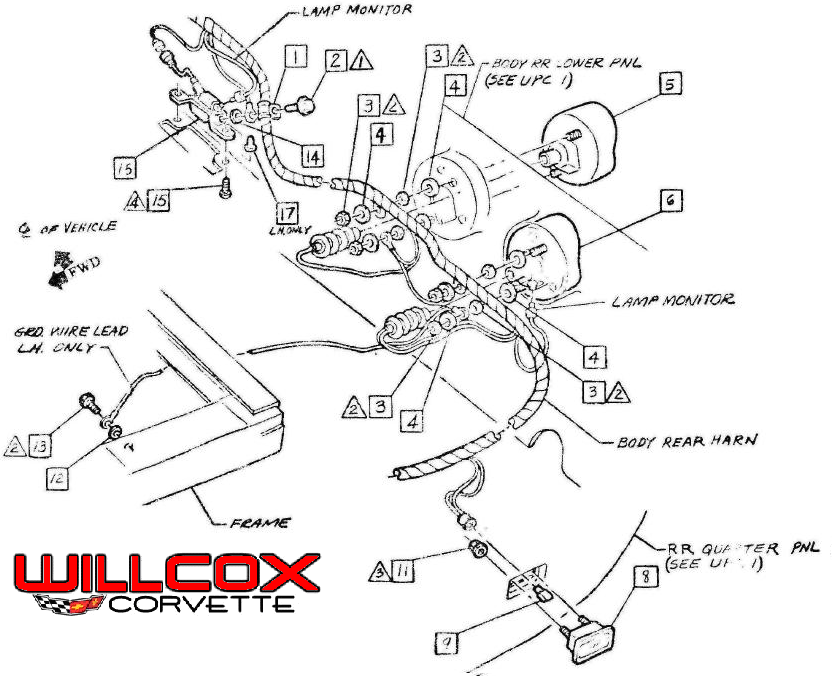 1967 Corvette Wiring Diagram 2000 Corvette Wiring Diagram