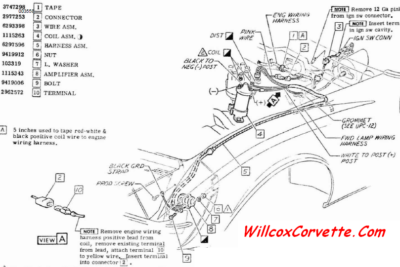 1980 corvette ignition wiring diagram