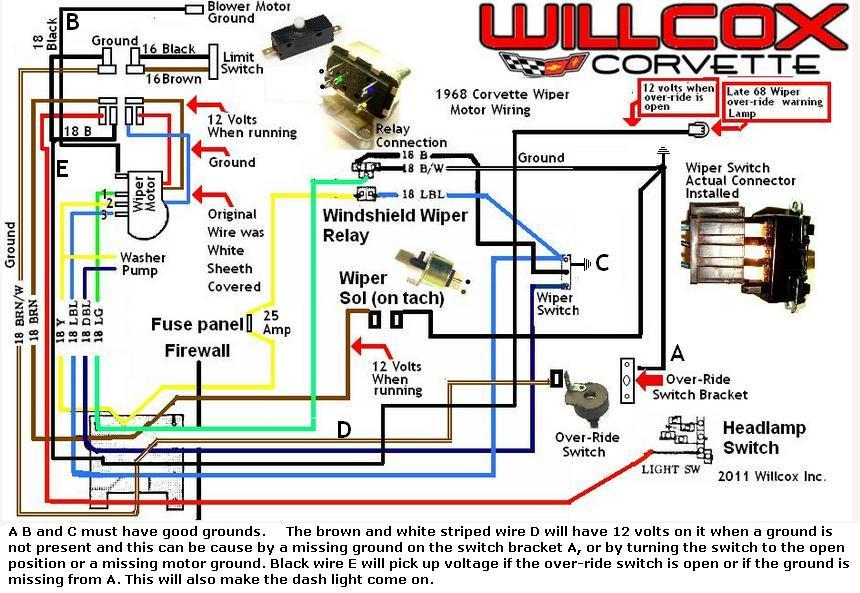 1988 Gmc Wiper Wiring