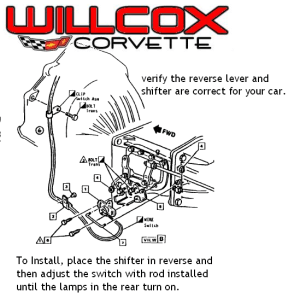wiring diagram for multiple lights one switch 1756 ow16i corvette back up lamp installation 1968-1981 | willcox corvette, inc.