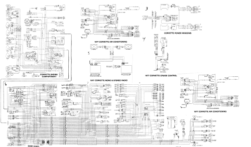 small resolution of corvette c4 schematic auto electrical wiring diagram 1958 corvette dash wiring diagram 1977 corvette dash wiring