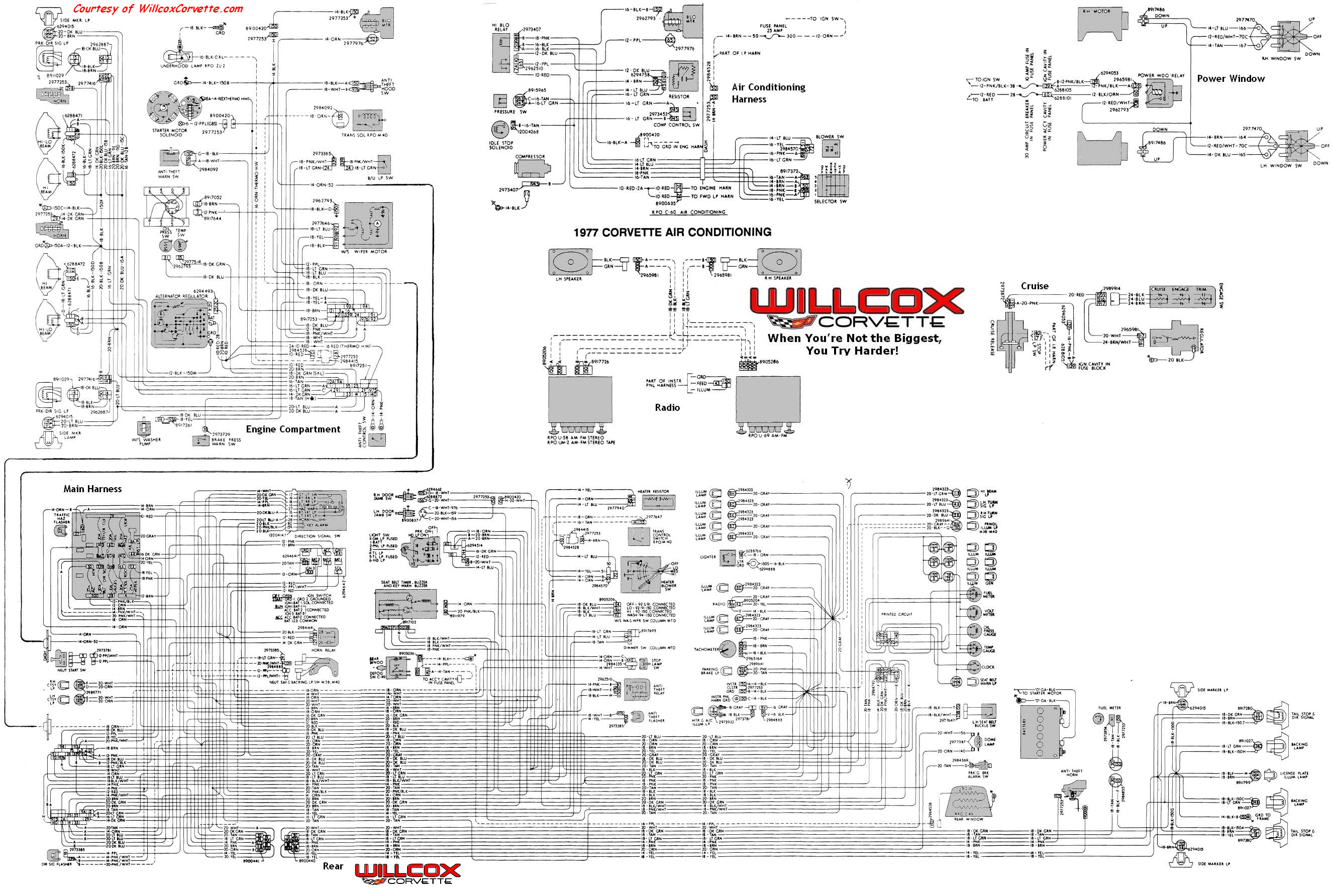 1977 Corvette Tracer Wiring Diagram Tracer Schematic Willcox
