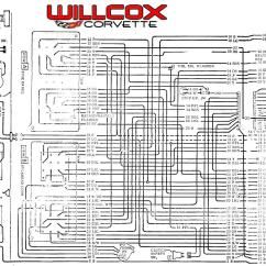 1976 Corvette Radio Wiring Diagram Small Business Network Design 1969 Main And Engine Compartment