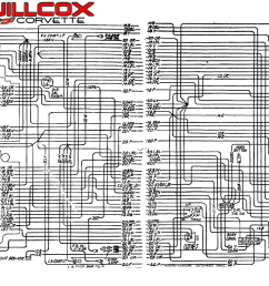 corvette wiring schematic wiring diagram for you 1975 corvette wiring diagram 65 corvette wiring schematic simple [ 2355 x 732 Pixel ]