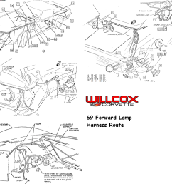 1961 corvette wire harness routing [ 1200 x 1000 Pixel ]