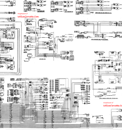 corvette wiring diagram wiring diagram third level 1974 corvette wiring diagram pdf 1974 corvette radio wiring diagram [ 3478 x 2211 Pixel ]