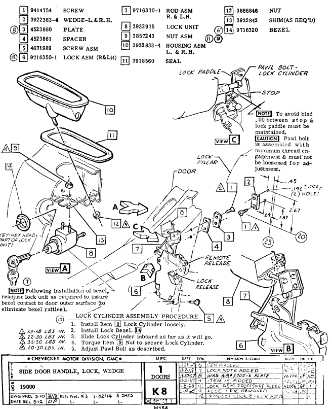 Central Door Lock Wiring Diagram On 75 Corvette, Central