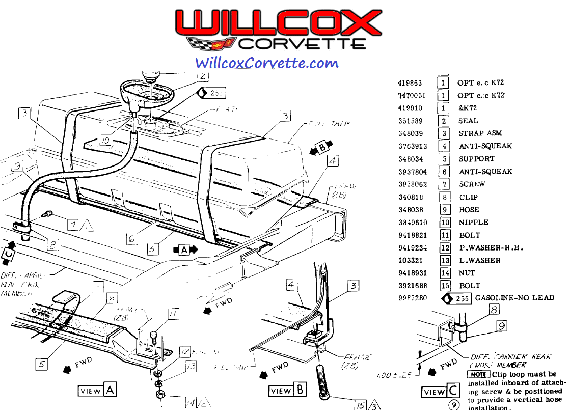 1978 Corvette Fuse Box | Wiring Diagram Database