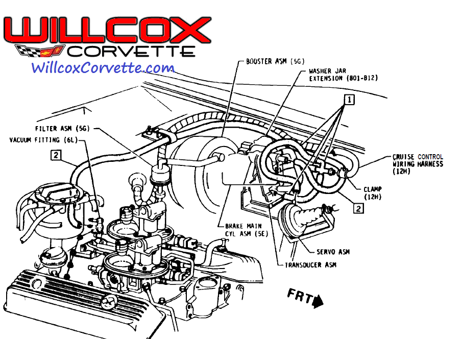 1981 Corvette Cruise Control Servo Wiring Diagrams