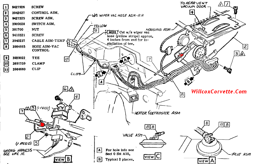 73 Corvette Wiring Harness Diagram. Corvette. Wiring