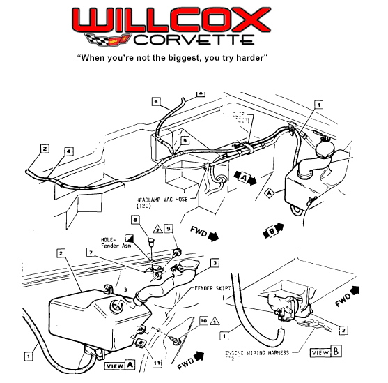 77 Corvette Engine Vacuum Diagram • Wiring Diagram For Free