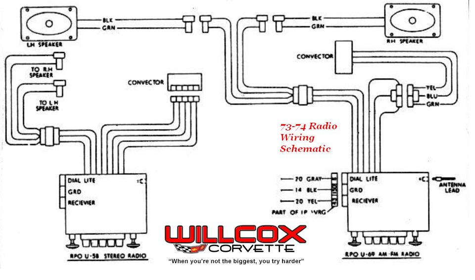 1999 corvette radio wiring diagram