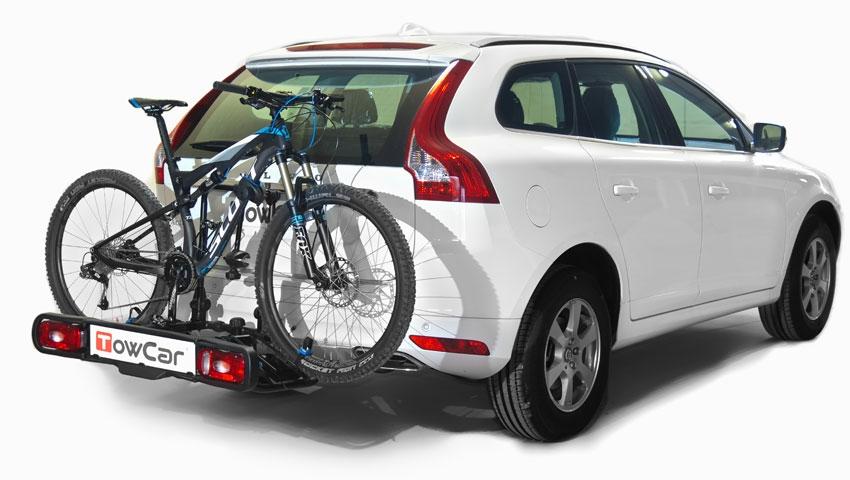llevar la bici en el coche