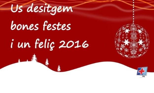Bones festes i feliç 2016