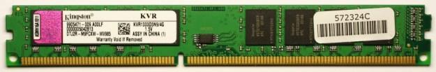 Módulo memoria RAM 4GB DDR3