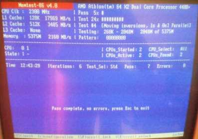 Usando Memtest86 Problemas con la memoria RAM y como usar Memtest86