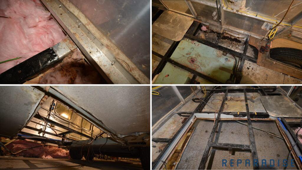 Airstream renovation and restoration