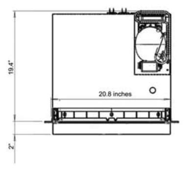 Depth Dimesions for RV fridge