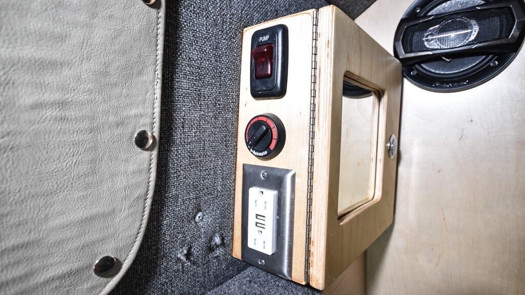 4th Gen E-Serise 4x4 Camper Van Custom Interior
