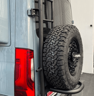 The Owl Ladder + Spare Tire Carrier