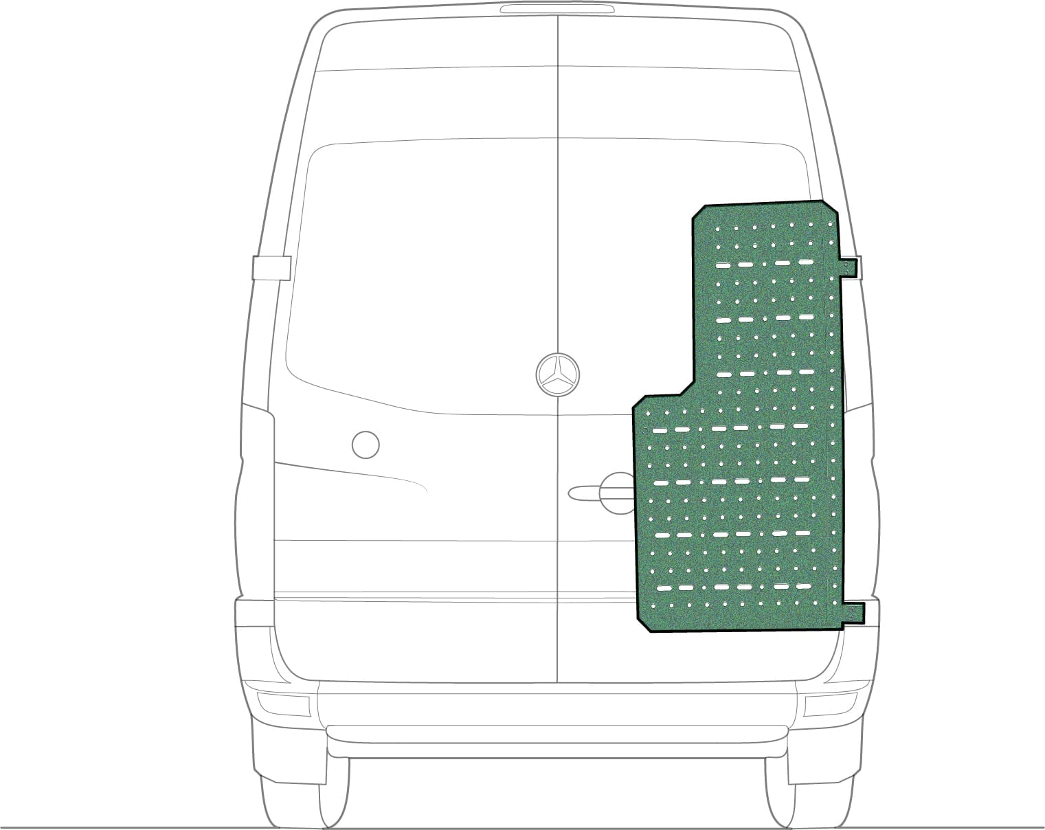 External Storage for Sprinter Camper Van