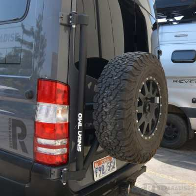Owl Van Spare Tire Carrier for NCV3
