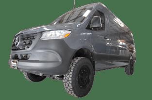 Sprinter van oversized tires