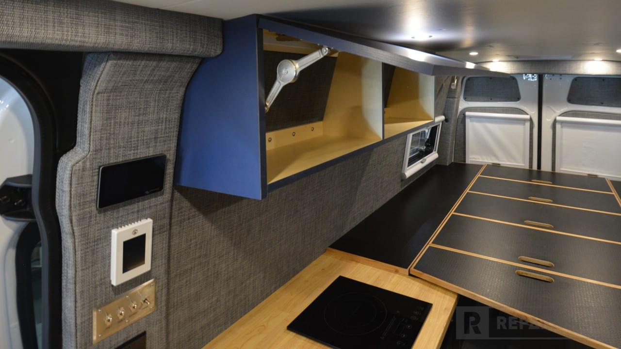 Sprinter van upper cabinets